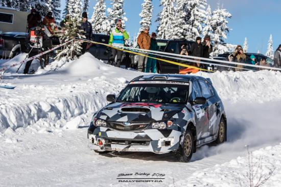 Big White Winter Rally Dec 5-6 Big White BC WCRA/RallyBC