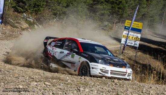 Pacific Forest Rally Sep 29-30 Merritt BC WCRA/RallyBC